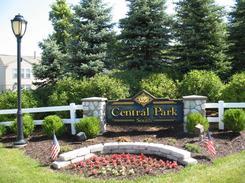 Central Park South Neighborhood Sign