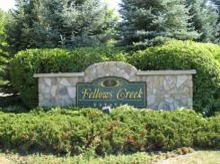 Fellows Creek Neighborhood Entrance Sign